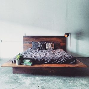 MFEO_Reclaimed Wood Platform Bed